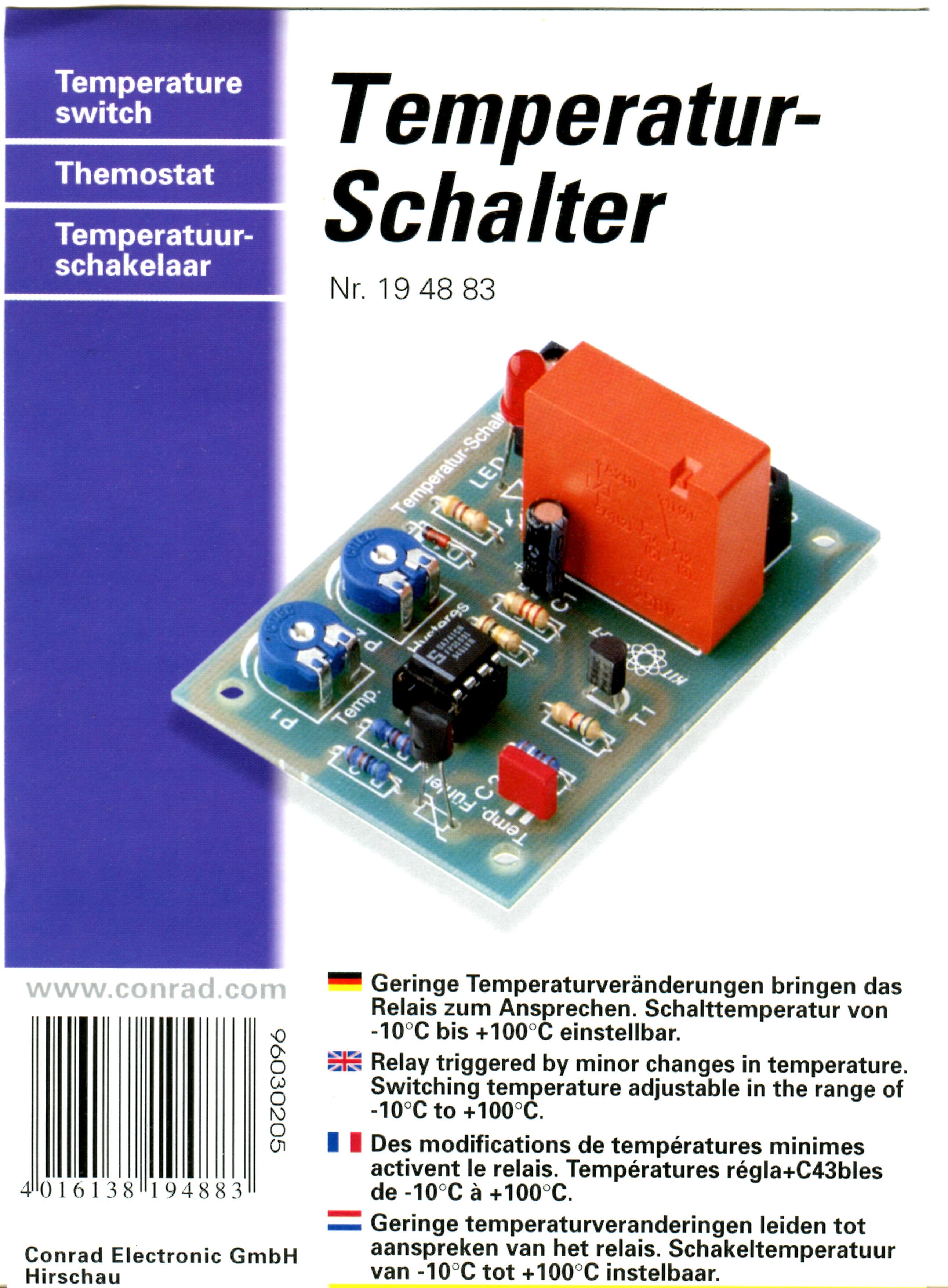 Temperaturregler selbstbau